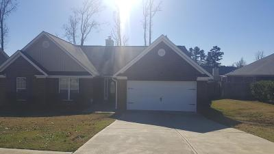 Grovetown Single Family Home For Sale: 2045 Lake Forest Drive