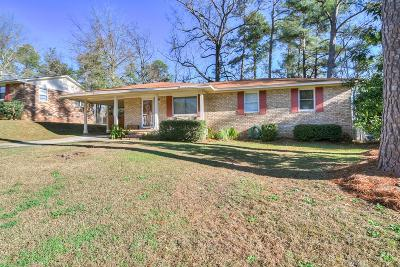 Augusta Single Family Home For Sale: 3009 Sterling Road