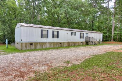 Harlem Manufactured Home For Sale: 1385 Freeman Harriss Road