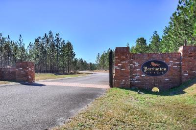 Aiken Residential Lots & Land For Sale: Lot 4-6 Barrington Farms Dr.