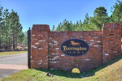 Aiken Residential Lots & Land For Sale: Lot 1-6 Barrington Farms Dr.