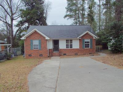 Augusta Single Family Home For Sale: 2719 Royal Street