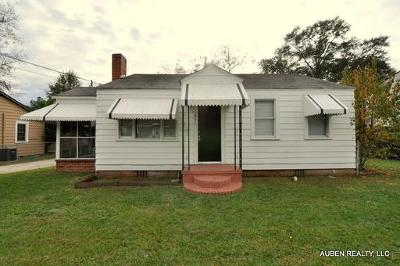 Augusta Single Family Home For Sale: 1951 Barnes