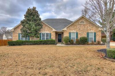 Grovetown Single Family Home For Sale: 1303 Highwoods Pass