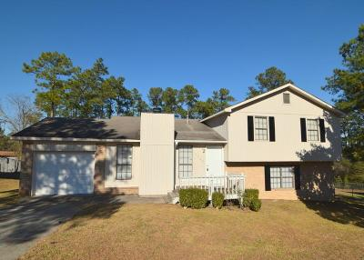 Richmond County Single Family Home For Sale: 3509 Becton Road