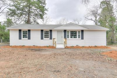 Augusta Single Family Home For Sale: 208 Tallman Drive