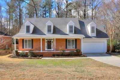 Martinez Single Family Home For Sale: 478 Bakerwoods Trail