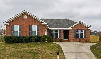 Grovetown Single Family Home For Sale: 3014 Ashland Way