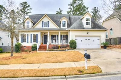 Evans Single Family Home For Sale: 928 Napiers Post Drive