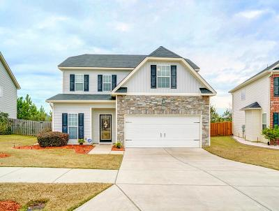 Grovetown Single Family Home For Sale: 232 High Meadows Circle
