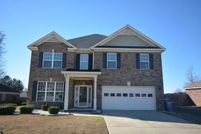 Grovetown Single Family Home For Sale: 1641 Cedar Hill Drive