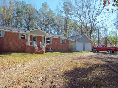 Edgefield SC Single Family Home For Sale: $125,000