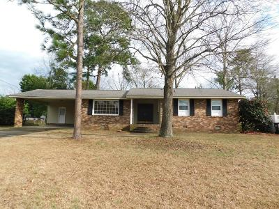 North Augusta Single Family Home For Sale: 617 Oakdale Avenue