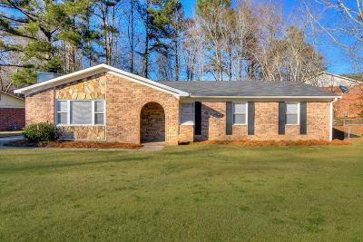 Hephzibah Single Family Home For Sale: 2918 Crosscreek Drive