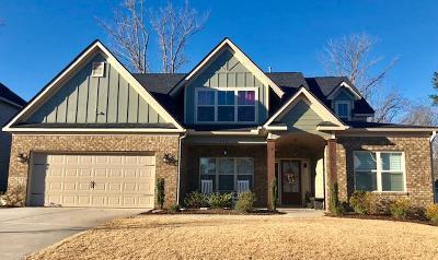 Evans Single Family Home For Sale: 438 Kirkwood Drive