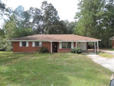 Augusta GA Single Family Home For Sale: $28,000