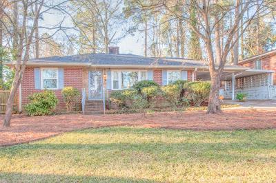 Augusta GA Single Family Home For Sale: $129,900