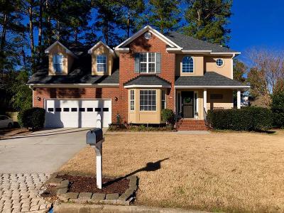 Evans Single Family Home For Sale: 4650 La Court