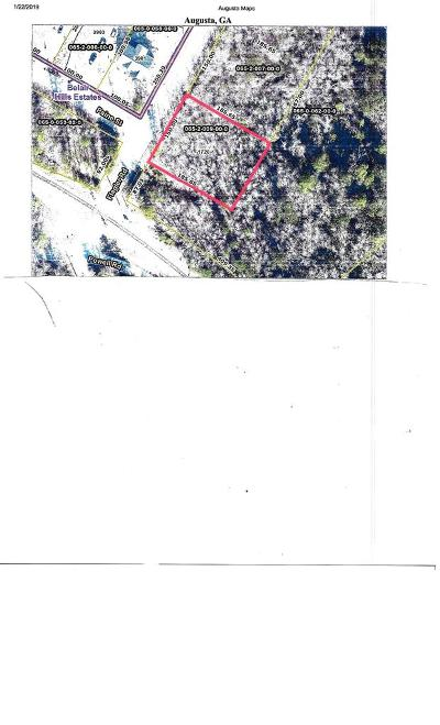 Augusta Residential Lots & Land For Sale: 1720 Flagler Road