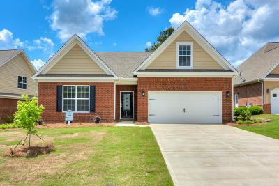 North Augusta Single Family Home For Sale: 142 Fitzsimmons Drive