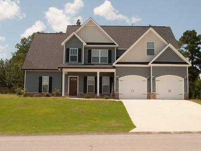 North Augusta Single Family Home For Sale: 3129 Lake Norman Drive