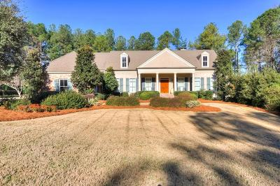 North Augusta Single Family Home For Sale: 19 Pavilion Lake Road