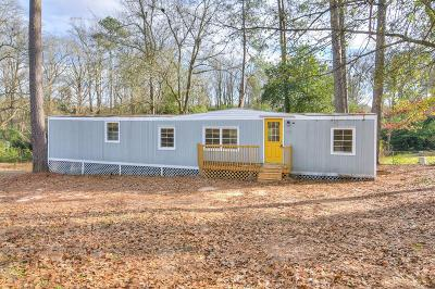 Richmond County Manufactured Home For Sale: 3312 Pecan Ave