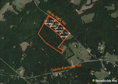 Lincolnton Residential Lots & Land For Sale: 1911 White Rock Road