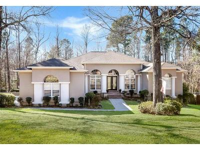 Edgefield County Single Family Home For Sale: 520 Oak Creek Drive