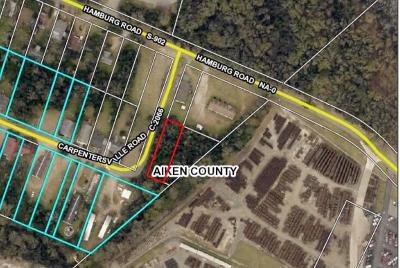 North Augusta Residential Lots & Land For Sale: Carpentersville Road