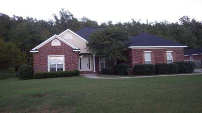 Evans Single Family Home For Sale: 2977 William Few Pkwy