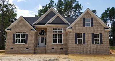 Edgefield County Single Family Home For Sale: 276 Eutaw Springs Trail