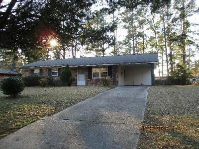 Richmond County Single Family Home For Sale: 2457 Dublin Drive