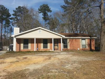 Hephzibah Single Family Home For Sale: 3490 Postell Drive