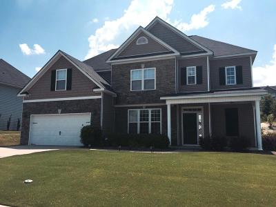 Grovetown Single Family Home For Sale: 4837 High Meadows Drive