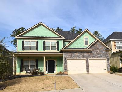Grovetown Single Family Home For Sale: 728 Herrington Drive
