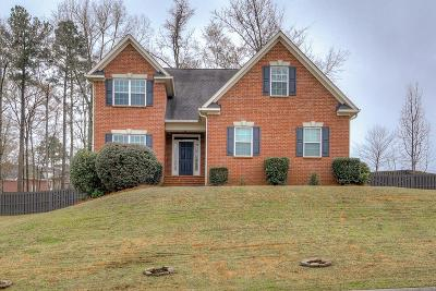 Grovetown Single Family Home For Sale: 1119 Indian Springs Trail