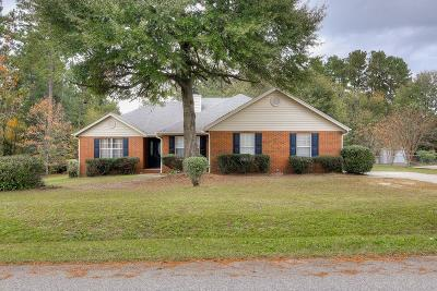 Hephzibah Single Family Home For Sale: 1013 Pleasant Valley Drive
