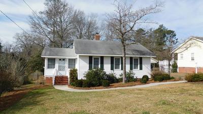 Thomson Single Family Home For Sale: 605 Arnall Street
