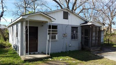Augusta GA Multi Family Home For Sale: $12,500
