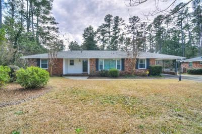 Augusta Single Family Home For Sale: 3178 Wheeler