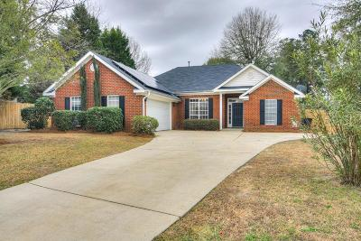 North Augusta Single Family Home For Sale: 683 St Julian Place
