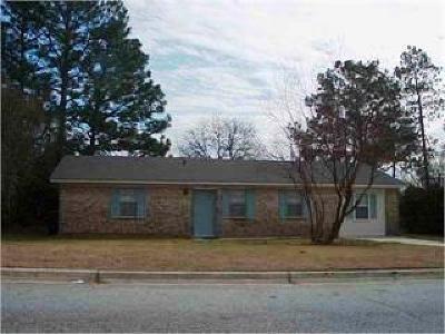 Augusta GA Single Family Home For Sale: $72,900