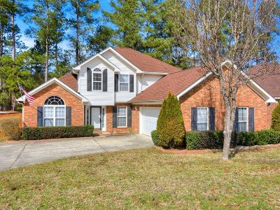 Grovetown Single Family Home For Sale: 7634 Senators Ridge Drive