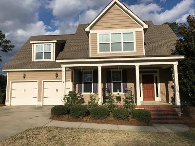 Evans Single Family Home For Sale: 919 Napiers Post Drive