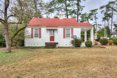Augusta GA Single Family Home For Sale: $89,900
