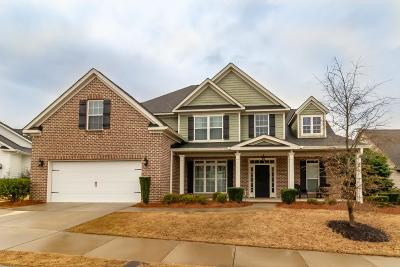 Evans GA Single Family Home For Sale: $320,000