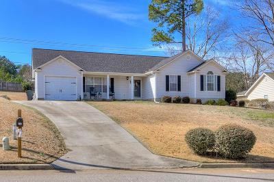 North Augusta Single Family Home For Sale: 212 Amy Circle