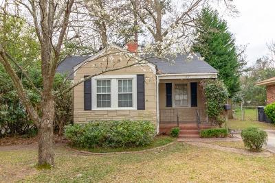 Augusta Single Family Home For Sale: 1717 Pennsylvania Avenue