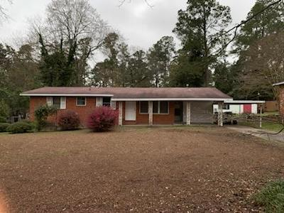 Augusta Single Family Home For Sale: 3337 Wedgewood Drive